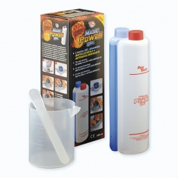 Gel bi-componente MAGIC POWER GEL en 2 botellas de 500 gr